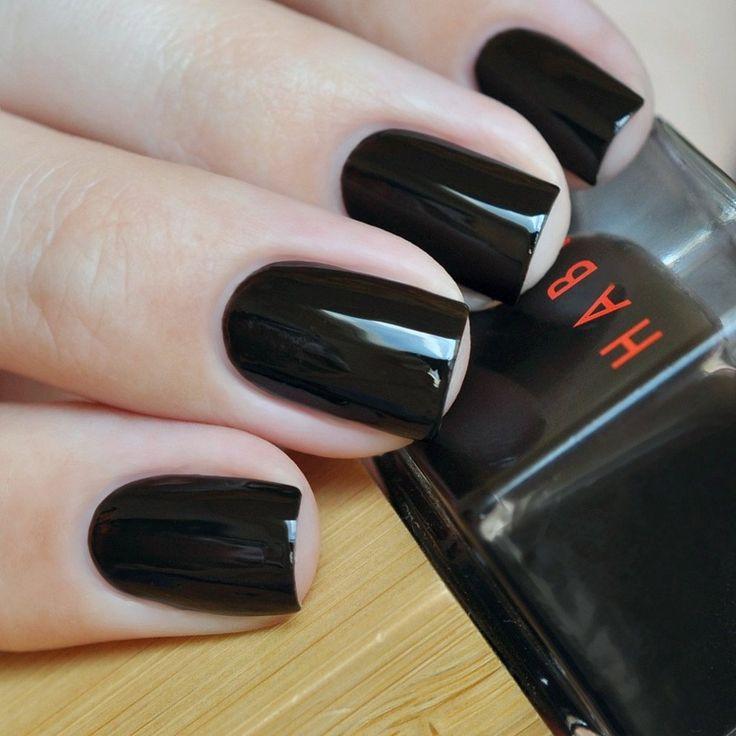 Swatch of Habit Cosmetics Vegan 9-Toxin Free Nail Polish in 22 Diabolique