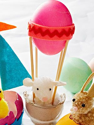 Modern Easter Egg Crafts: Hot Egg Balloon (via Parents.com)