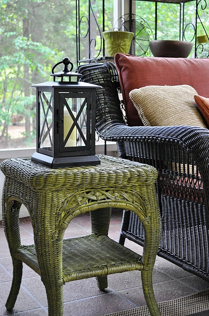 56 best images about wicker chair stain paint on pinterest for How to paint rattan patio furniture