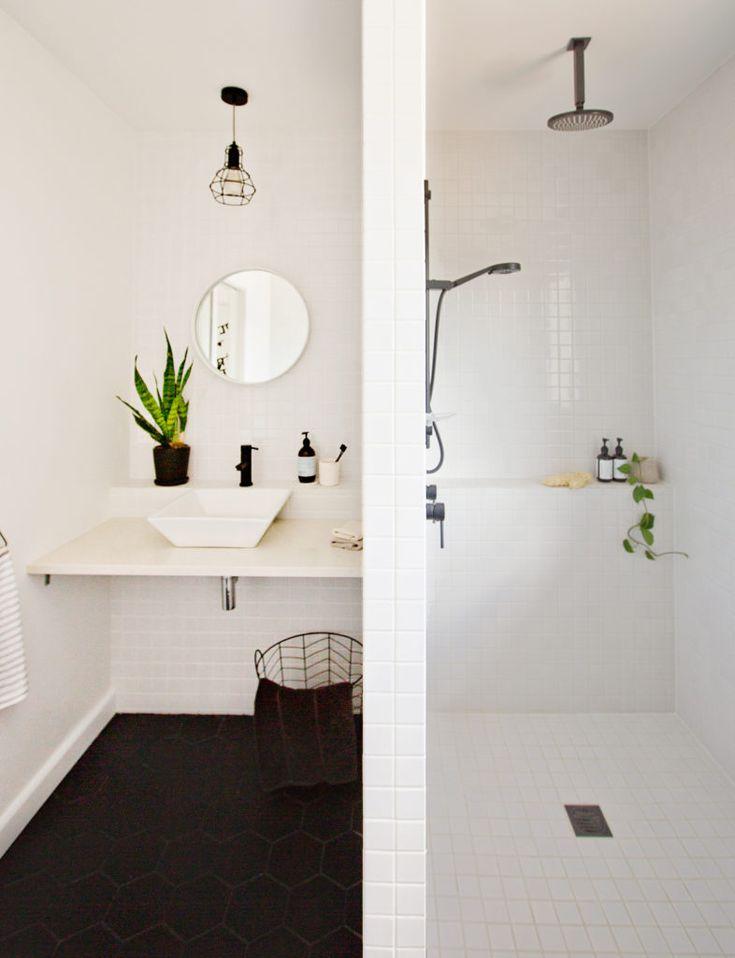 an original 1960s bathroom gets a black and white makeover on bathroom renovation ideas nz id=35123