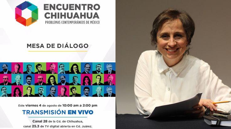 Aristegui Noticias se suma a transmisión en vivo del Encuentro Chihuahua