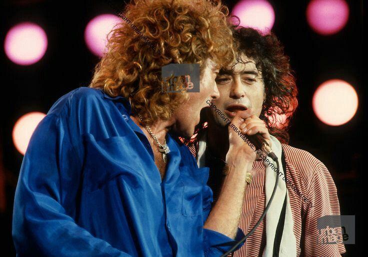 Pin By Davstar Grenntigort On 13 07 85 In 2021 Robert Plant Led Zeppelin Led Zeppelin Live