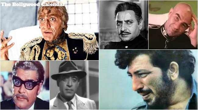 Top 10 Villains of Bollywood, Amrish Puri, Prem Chopra, Kulbhushan Kharbanda, Amjad Khan, Shakti Kapoor, Gulshan Grover and Danny Denzongpa