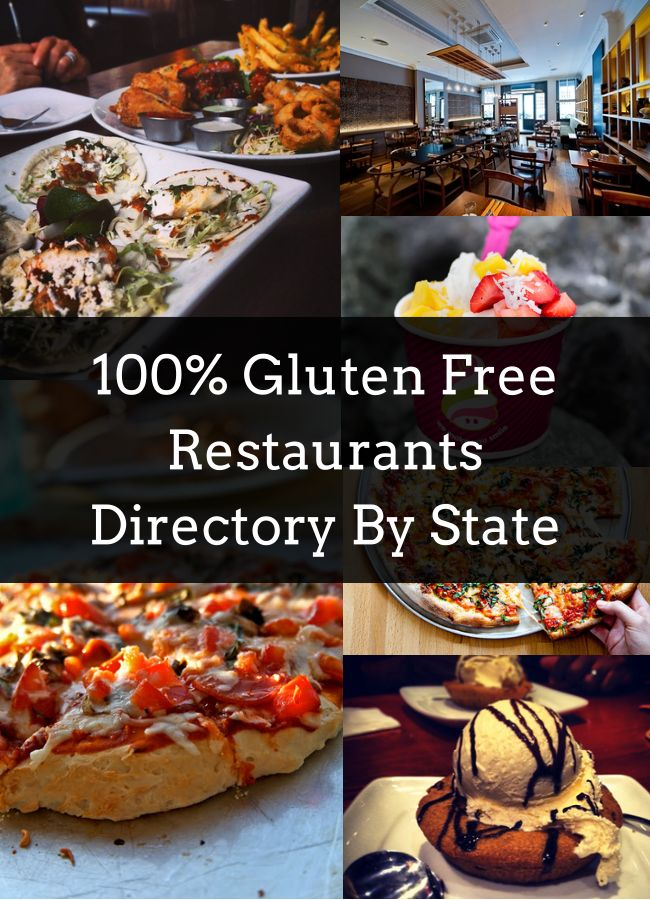 100 Gluten Free Restaurants Across The Nation Glutenfree And
