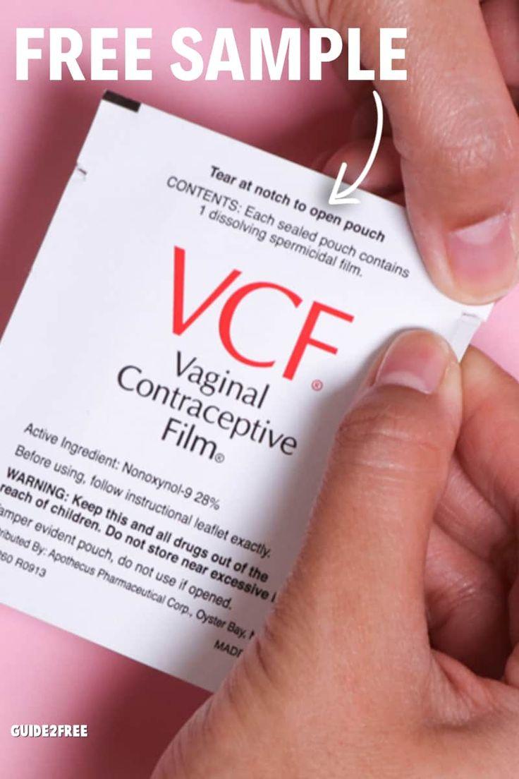 FREE VCF Birth Control Film Sample in 2020 Birth control