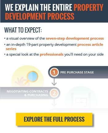 property development procesSure your initial feasibility study will be rough and have many assumptions, but it should give you a reasonable guideline if you include:  The purchase price, purchase date and settlement. Stamp duty on the purchase. Your equity in the project which will then determine the size of the borrowings required and interest payable (a word of warning – this is a big one. Your interest cost is likely to be a six-figure sum.) Conveyancing and legal costs. Consultant's cos