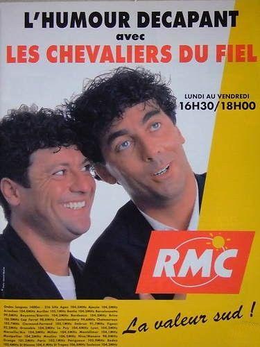 Les Chevaliers du Fiel sur RMC de Septembre 1997 à Mars 1999