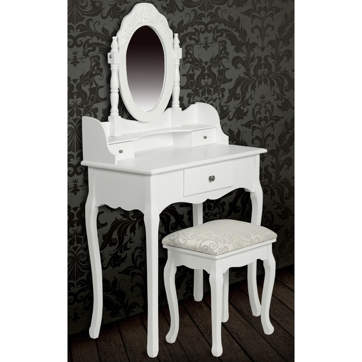 70 best Home images on Pinterest Bedroom ideas, Future house and - meuble coiffeuse avec miroir pas cher