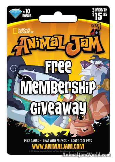 February Animal Jam Membership Giveaway animal-jam-free-membership-giveaway-february  #AnimalJam #Memberships http://www.animaljamworld.com/february-animal-jam-membership-giveaway/