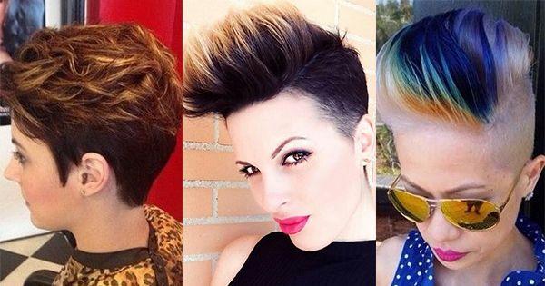 Wil jij geen drastische verandering in jouw haar? Kies dan eens voor een paar gekleurde plukjes in bijvoorbeeld alleen de pony. Zo geef jij jouw korte coupe toch weer een andere uitstraling, zonder het erg drastisch te veranderen! Super leuk toch!