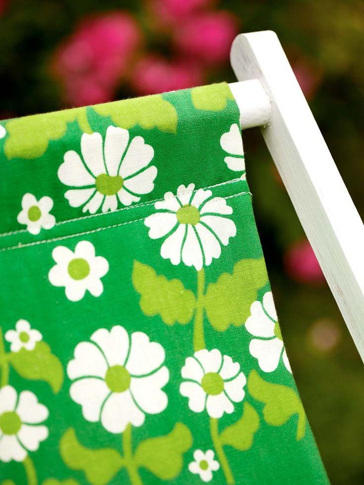 Land.se tipsar om hur du kan klä om din solstol.