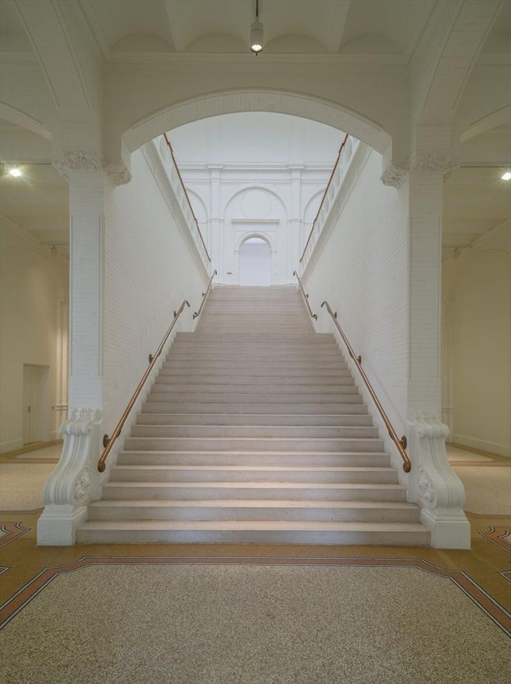 Stedelijk Museum, Amsterdam, 2012  #museum #stair #interior