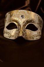 Masque Vénitien Masque Loup Or Fait à la Main à Venise!