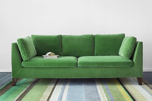 Always something new at IKEA! Don't miss out on the new STOCKHOLM collection in stores. Made of the finest materials, this velvet green sofa will both look and feel nice in your home. Available in other colors too!