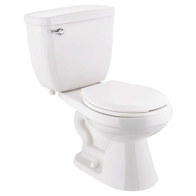 """""""Eco To Go"""" Round Front 2-Piece Toilet, 4,8 L, White"""