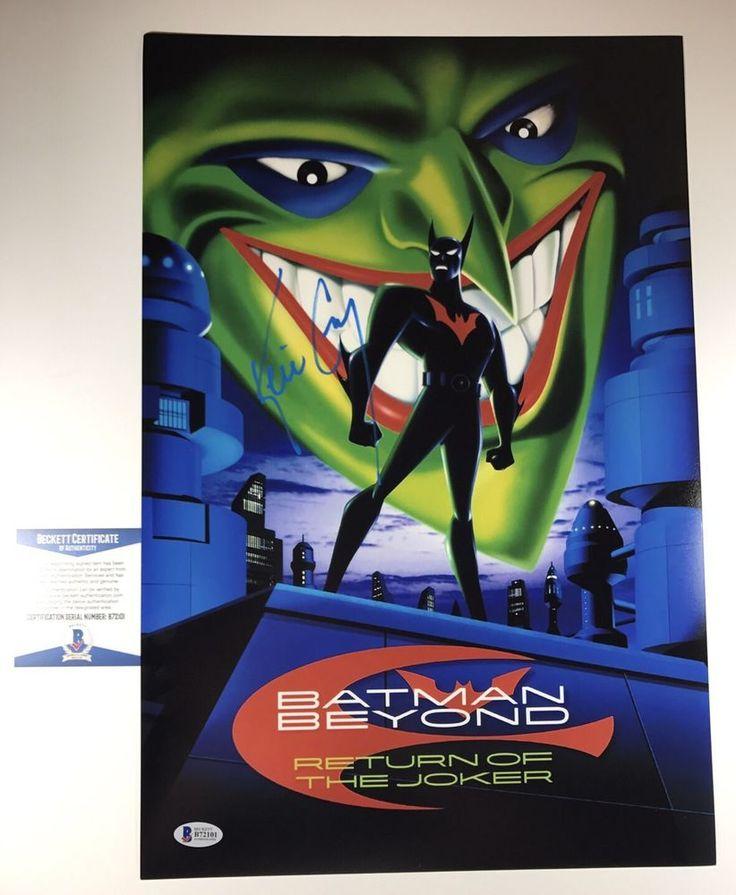 KEVIN CONROY signed 12X18 Poster BATMAN BEYOND RETURN OF THE JOKER BAS