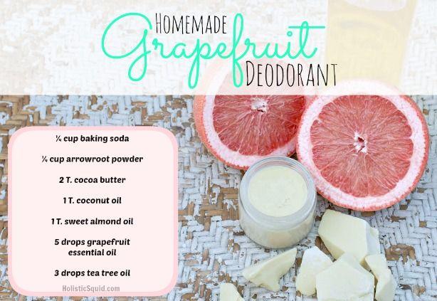 Homemade Deodorant - Holistic Squid