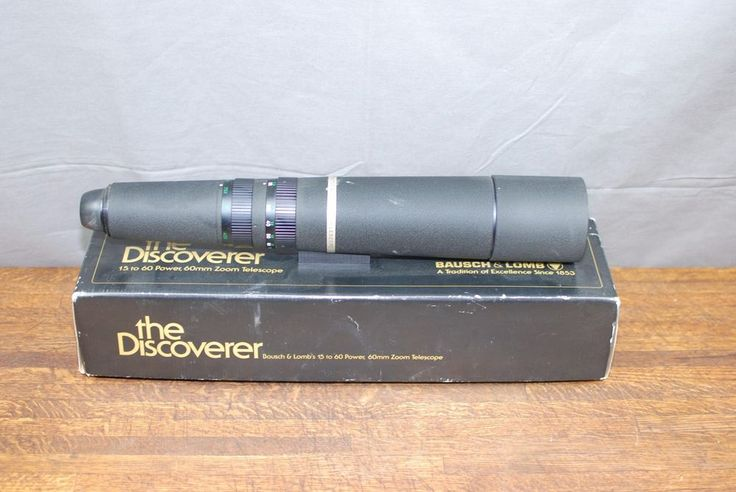 Bausch Amp Lomb Discoverer 15 60x60mm Zoom Telescope