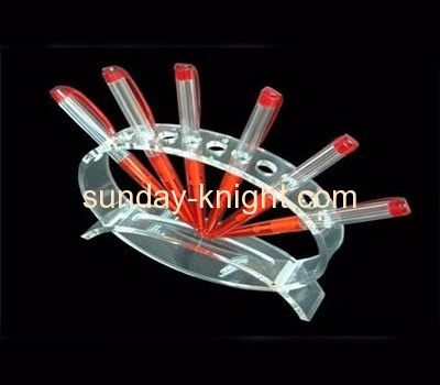 Acrylic plastic supplier customized acrylic cute pen holder stand ODK-127
