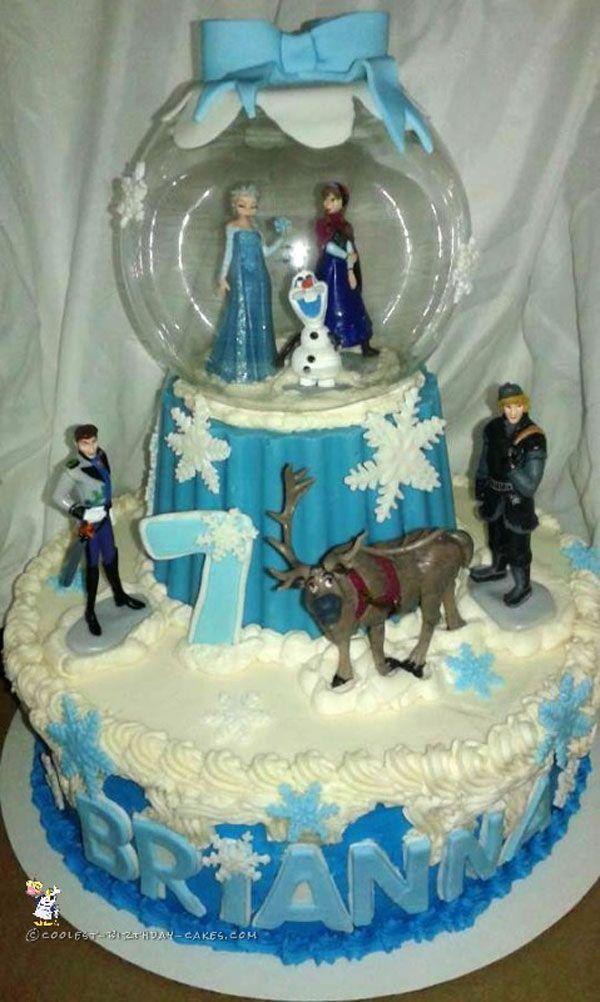 Kue Ulang Tahun Anak Tema Frozen Ulang Tahun Frozen