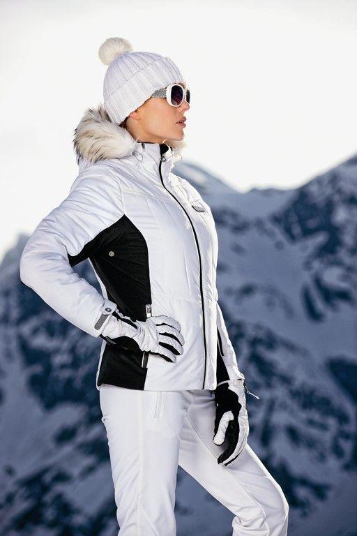 Italians like to be stylish even on the slopes
