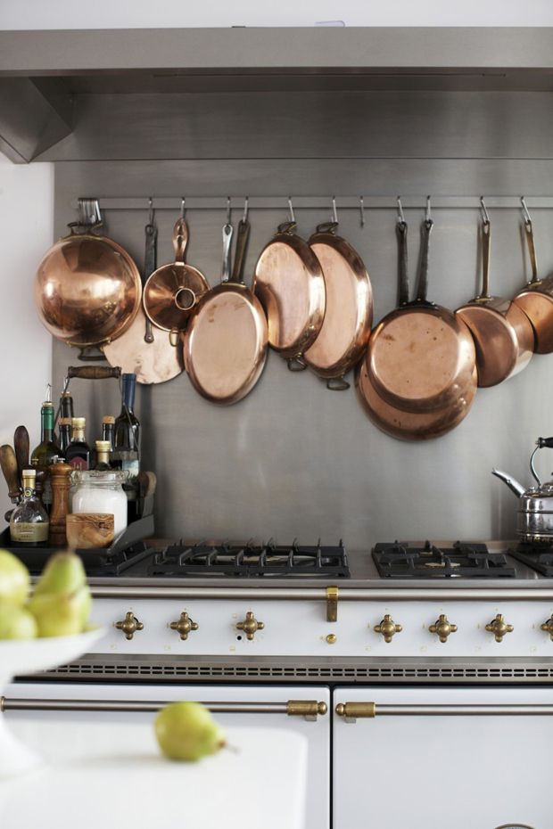 The Best Copper Kitchen Accessories H O M E Forever Pinterest Pots Pot Rack And Accents