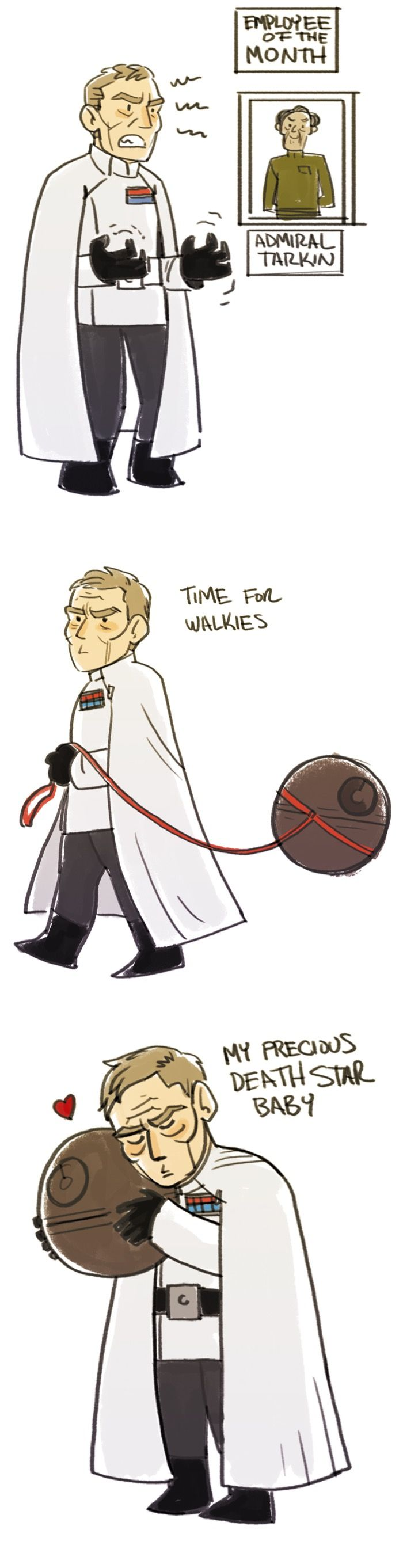 Saw Rogue One. Director Krennic was my favourite thing about it; he just wanted to be appreciated for all his hard work building the Death Star! Why won't anyone acknowledge what he'd done for the Empire? I am *here* for a Star Wars movie about infighting in Empire middle management. XD