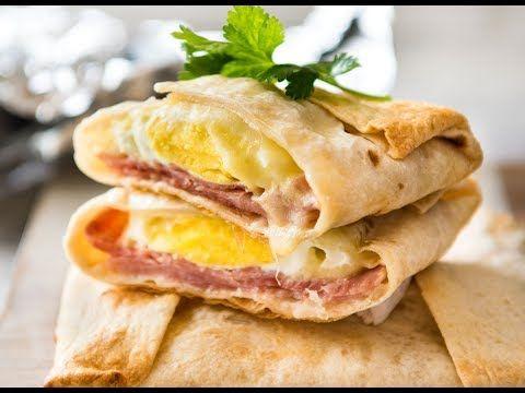 No Washing Up Ham, Egg & Cheese Pockets | RecipeTin Eats