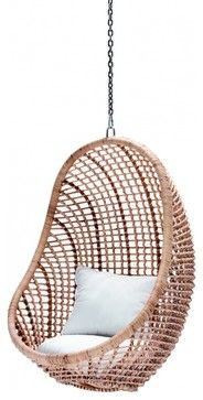 Category: Chairs | Style: Eclectic | Product Specifications: Kai Pod Chair, Natural - Weylandts