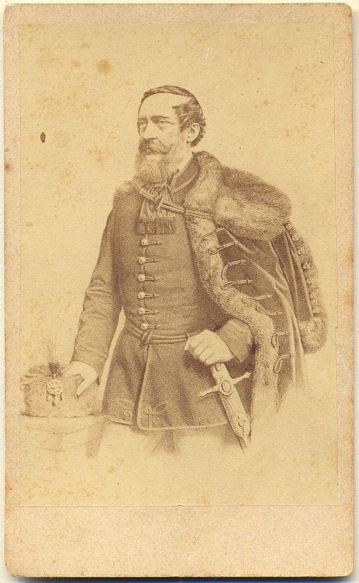 Lajos Kossuth' (1802–1894) portrait, from the 1860s. - Múzeum Antikvárium