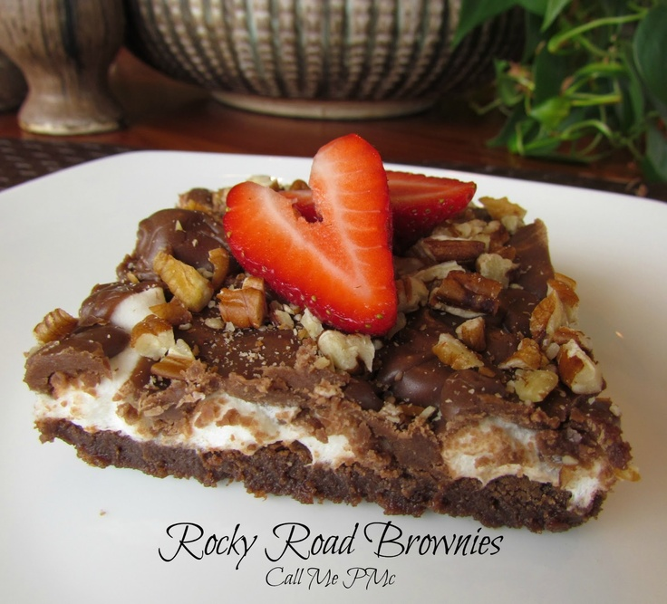 Call Me PMc: PMc's Famous Rocky Road Brownies / Call Me PMc