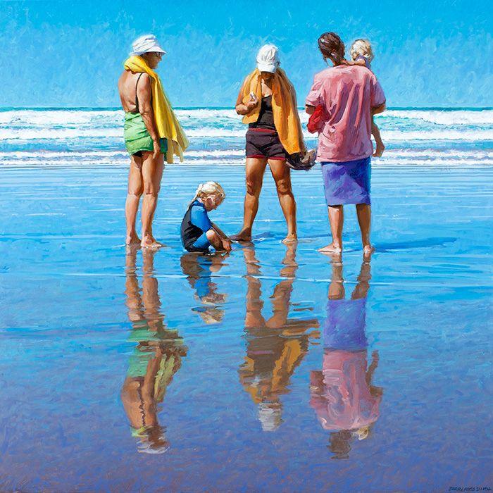 scène de plage - Barry Ross Smith