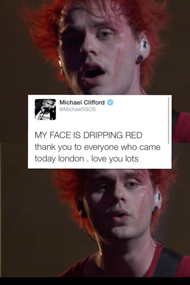 *amnesia starts playing* i remember the hair dye runnin down your face..