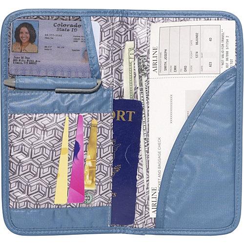 Travelon Safe ID Boarding Pass Case RFID Blocking