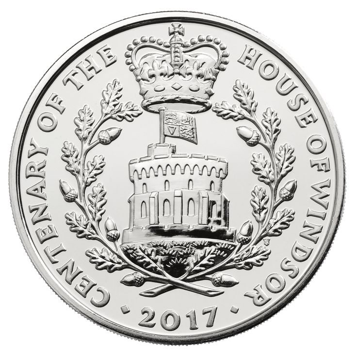 It is a century since our royal family changed their name to Windsor during the First World War and the centenary of The House of Windsor is marked on a 2017 UK £5 Coin.