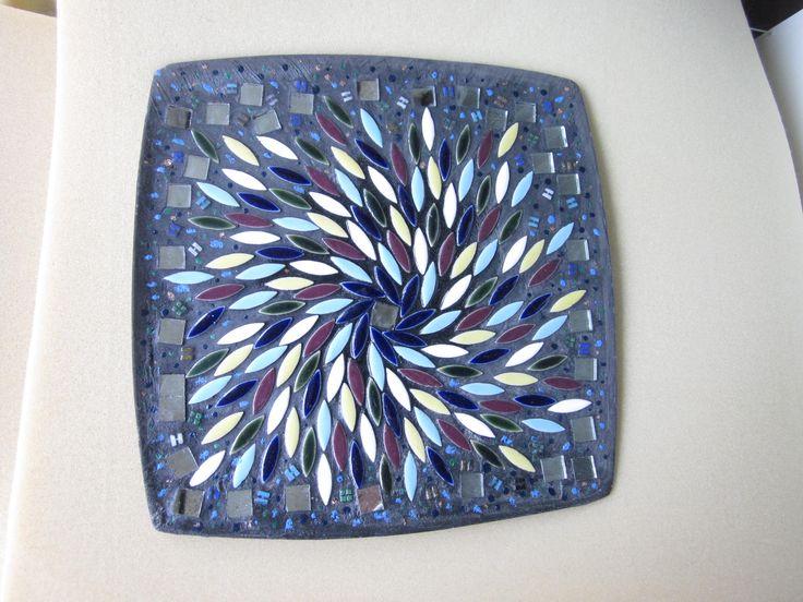 мозаика поднос