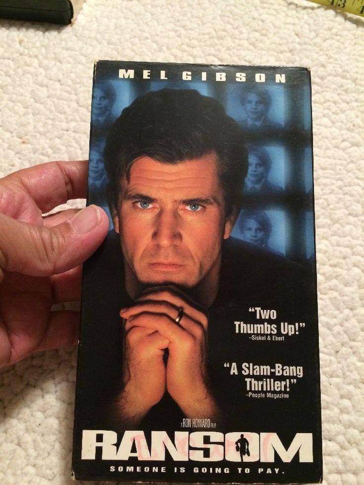 "RANSOM (VHS, 1997) - Mel Gibson, Rene Russo, Gary Sinise, Delroy Lindo, NTSC ""R""  | eBay"