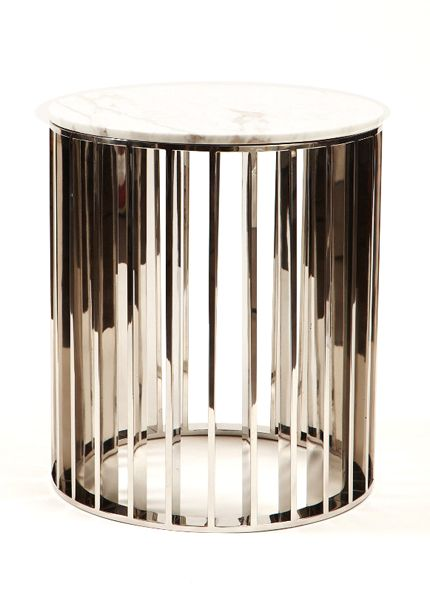 George Side Table designed by Erinn Valencich, contestant on NBC's American Dream Builders hosted by Nate Berkus