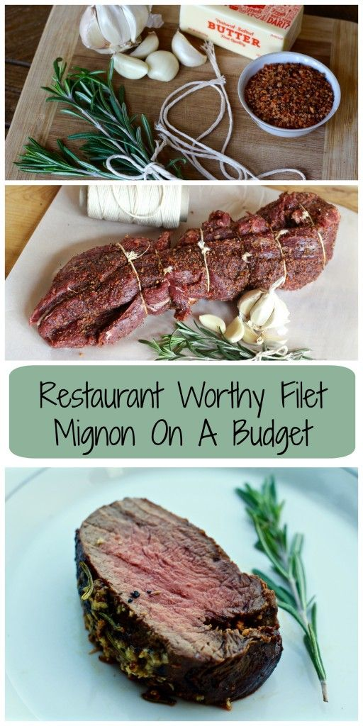 Learn how to make Restaurant worthy filet mignon for 1/10 of the price!
