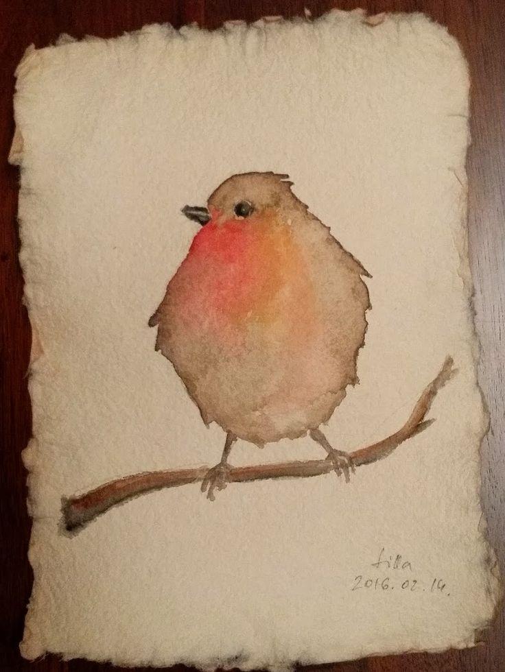 Robinbird  watercolor