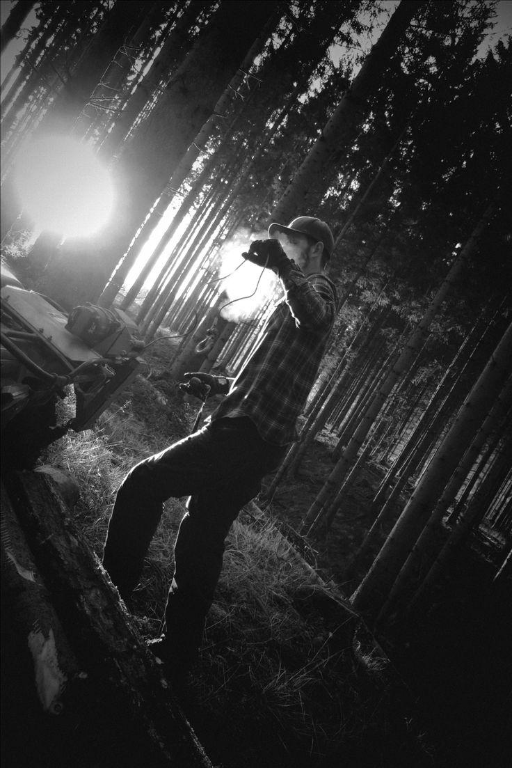 Forrest work. Lundhags clothing. Instagram: Felicia.hogberg