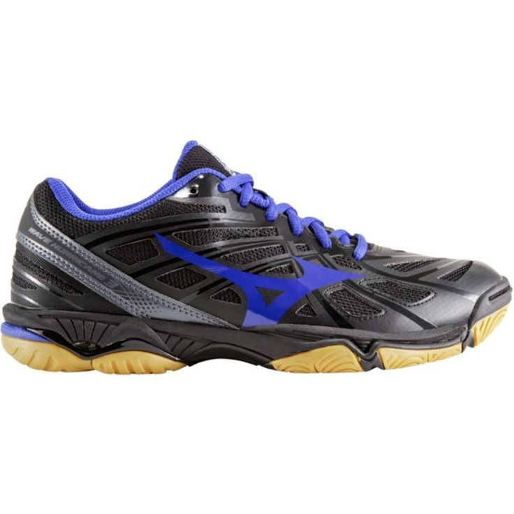 Mizuno Women's Wave Hurricane 3 Volleyball Shoes, Black