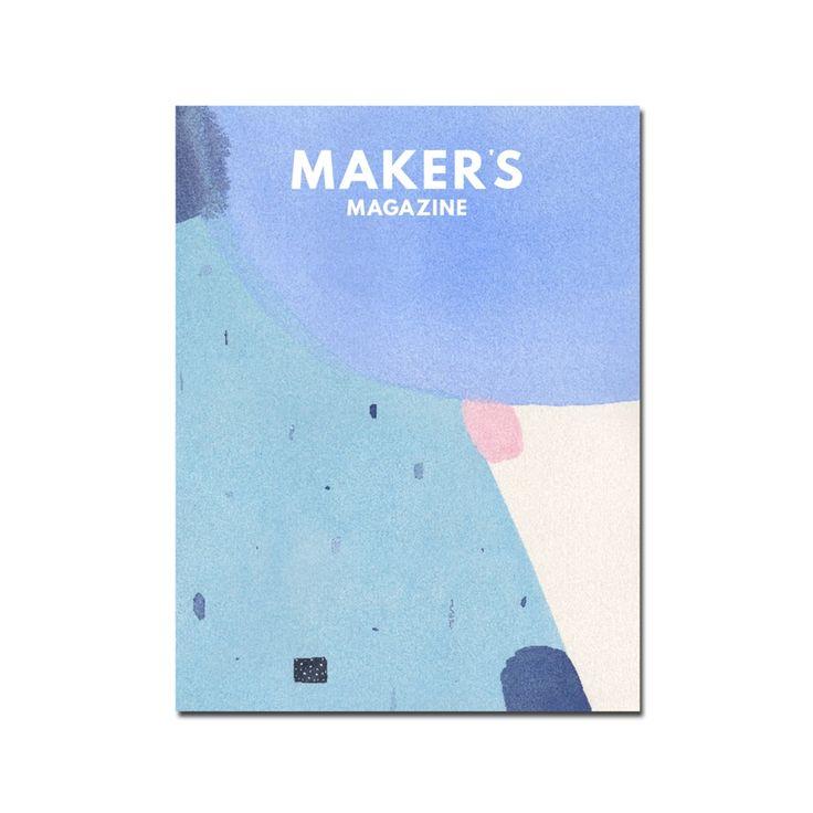 Maker's Magazine -  Issue 3: The Blues / Magazine Maker's - Issue 3 The Blues Buk&Nola