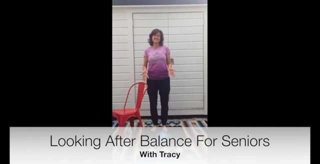Tracy Adshead, a yoga teacher specialising in yoga for seniors, has created this easy-to-follow video of yoga moves to improve your balance.