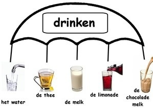 Learning Dutch - types of drinks