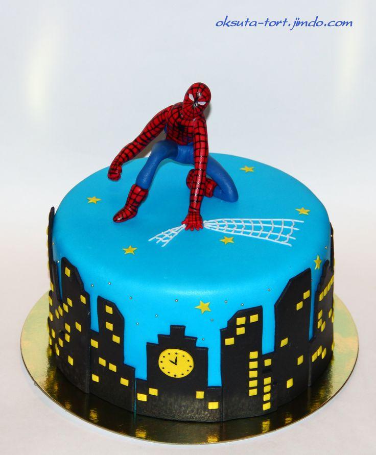 Торт человек паук картинки