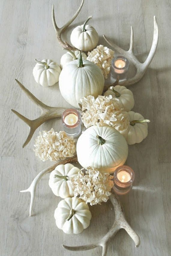 Create beautiful and simple autumn decoration