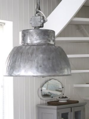 Gorgeos unique industrial lamp. We absolutely love the roughness and honesty of this piece - Share our passion for the unique and honest – Vintage rare czech industrial lamps set in a beautiful interior - Share our passion – www.onlyonceshop.com