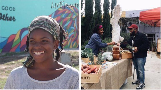 Crystal Johnson @Crystal1Johnson    More   26-year-old Olympia Auset, Howard grad and entrepreneur launches low cost organic grocery store in Los Angeles. It's called SÜPRMARKT!