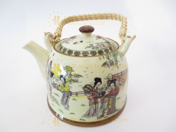 Theepot Chinese vrouwen groothandel | Dragon Euro Trade BV